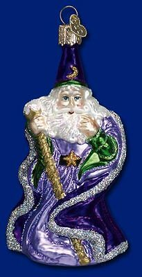 """""""Wizard"""" (24041) Old World Christmas Glass Ornament"""