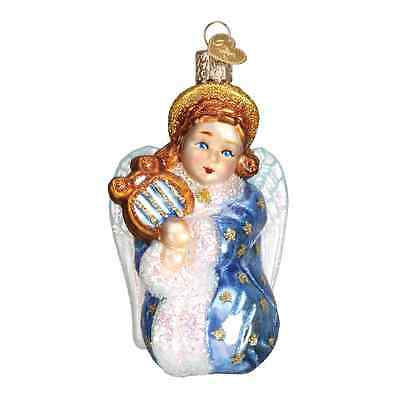 """""""Starry Little Angel"""" (10221) Old World Christmas Glass Ornament"""