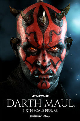 "Darth Maul: Duel on Naboo Sixth Scale Figure by Sideshow Collectibles 12"" Action"