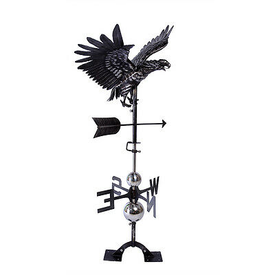 Fly Eagle Weathervane Weather Vane FULL BODY with Roof Mounting Hardware