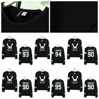 KPOP BAP B.A.P Pull 2016 Direct on earth TS Entertaiment Pullover Nouveau