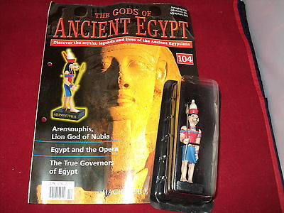 Hachette The Gods of Ancient Egypt - Issue 104 - Arensnuphis - lion God of Nubia