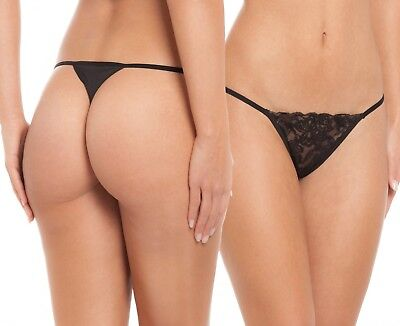 8 thong tanga Strings . In a pack of 8. With seductive lace details