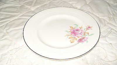 C4 Pottery George Clews & Cold Roses Side Plate 18cm 6E5A Some Crazing