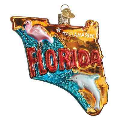 """State of Florida"" (36198) Old World Christmas Ornament"