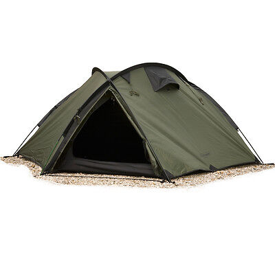 SNUGPAK Bunker 3 Mann Survival waterproof Camping Hiking Army Zelt Tent Oliv