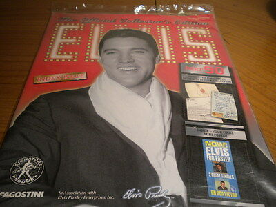 Elvis Deagostini Official Collector's Magazine - Issue 90 includes all artefacts