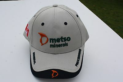 Ball Cap Hat - Metso Minerals - Processing - First Response - Mining (H1625)