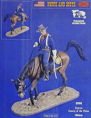 VERLINDEN PRODUCTIONS #2086 Captain Cavarly of the Plains Resin Figur in 1:16