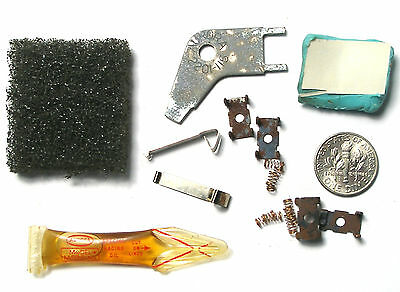 12pc Aurora AFX G+ LAZER Slot Car PICK UP SHOES +OIL +TRACK REPAIR CLIPS +TOOL