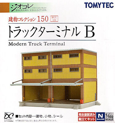 TOMIX N Scale 1/150 TOMYTEC The Building Collection 150 Modern Truck Terminal B