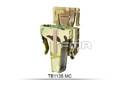 High Quality Multicam Pouch In 7.62 FOR Vest/Molle Paintball War Game H1135