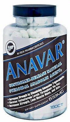 Hi-Tech Pharmaceuticals ANAVAR Hardcore Advanced Muscle Growth -180 tablets