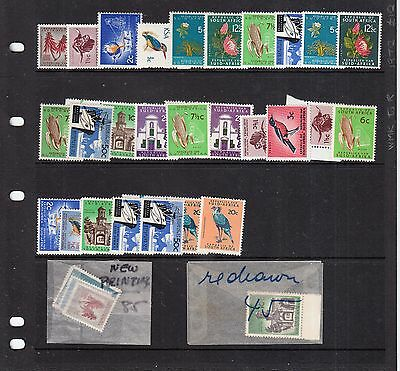 South Africa 1970 Values/set Unmounted Mint Inc New Printings/redrawn Etc