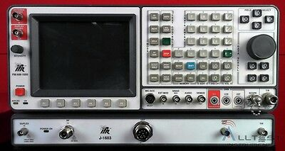 IFR/Marconi 1600-J-1603 Communications Service Monitor FM/AM Communications Serv