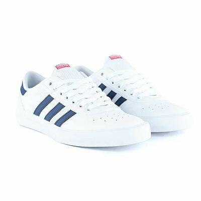 Adidas Skateboarding Lucas Premiere ADV White Navy Skate Shoes New Free Delivery