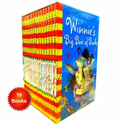 Winnie the witch 16 Books Set Collection Korky Paul  Big Box Gift Pack Brand New