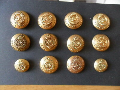 Royal Engineer Vintage Buttons