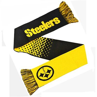 Nfl Pittsburgh Steelers Fade Scarf