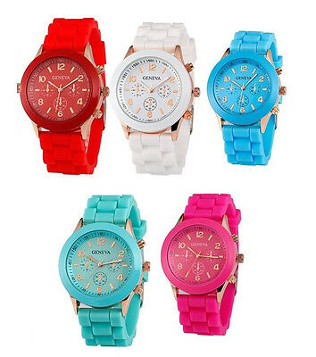 Childrens Adults Silicone Soft Gel Ice Watch Boys Girls Kids Womens Mens Unisex