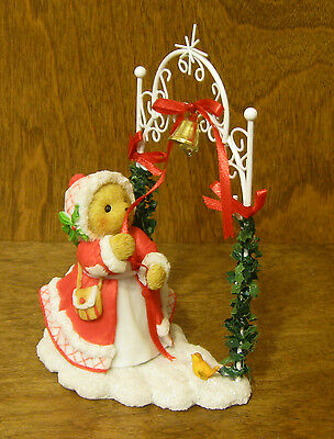 Cherished Teddies #4024338 BELLE Holiday Ring w/ Joy, Christmas From Retail Shop