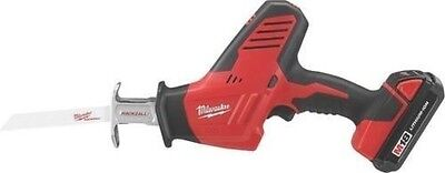 New Milwaukee 2625-21Ct M18 18 Volt Hackzall Cordless Reciprocating Saw Tool Kit