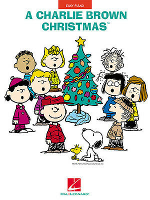 A Charlie Brown Christmas Easy Piano Jazz Sheet Music Vince Guaraldi Book NEW