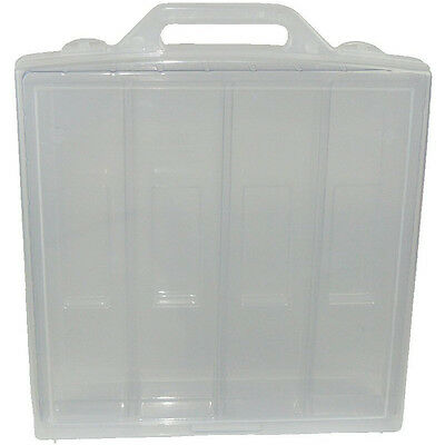Plastic Doll Case - Clear