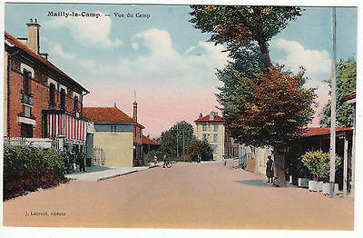Carte Postale Mailly Le Camp Vue Du Camp