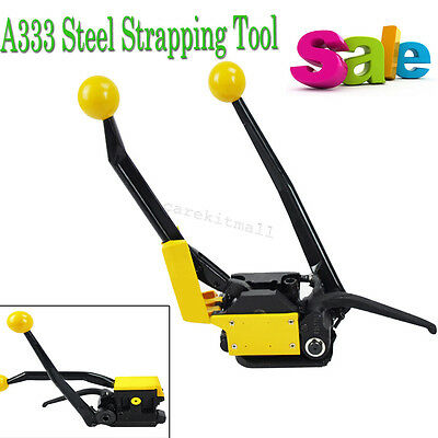 A333 Steel Strapping Tools For Strapping Width 13 to 19mm Steel Straps  machines
