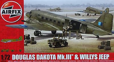 AIRFIX® A09008 Douglas Dakota Mk.III™ w/Willys Jeep in 1:72