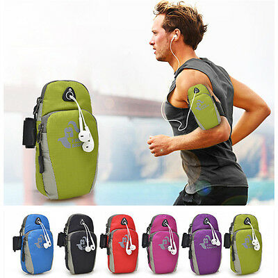 Multifunctional Outdoor Sports Armband Runing Arm Bag Compatible with iPhone6 6S