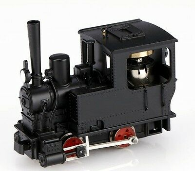 Minitrains 5040 - Krauss 0-4-0 Locomotive, Black - New (009/HOe Narrow Gauge)