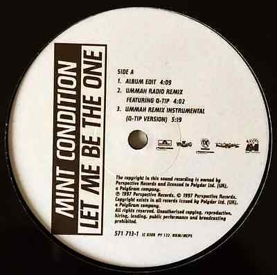 "MINT CONDITION ‎- Let Me Be The One (12"") (VG/NM)"