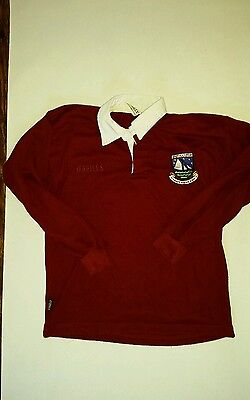 O'NEILLS Youth Galway Gaillimh Gaelic Football Hurling Rugby Shirt- Age 10/11