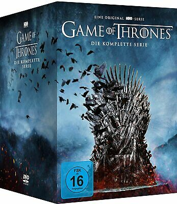 Game Of Thrones 1-7 Complete Season 1 2 3 4 5 6 7 Dvd Sprache: Englisch