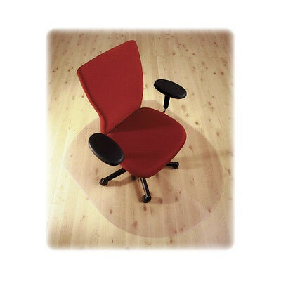 Chairmat 125 x 99cm Contoured Polycarbonate Chair Mat to Protect Hard Floor
