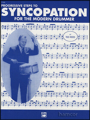 Progressive Steps to Syncopation for the Modern Drummer Snare Drum Music Book