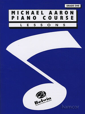 Michael Aaron Piano Course Lessons Grade 1 Learn to Play Music Method