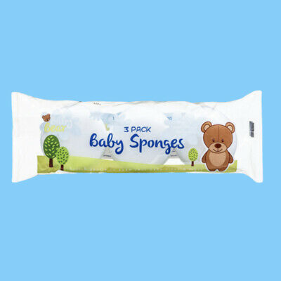 First Steps Baby Toddler Bath Super Soft Sponges Cleaning Baby