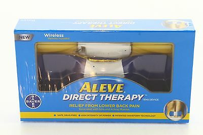 New! $40 Aleve Direct Therapy Tens Device Bayer Wireless Remote
