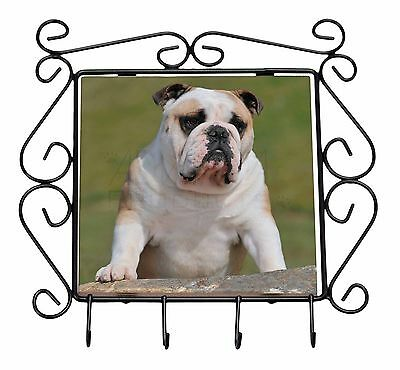 French Bulldog Wrought Iron Key Holder Hooks Christmas Gift AD-FBD2KH