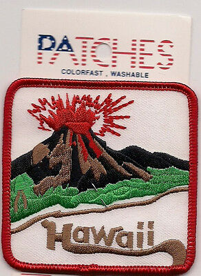 Colorful Souvenir Patch - State Of  Hawaii