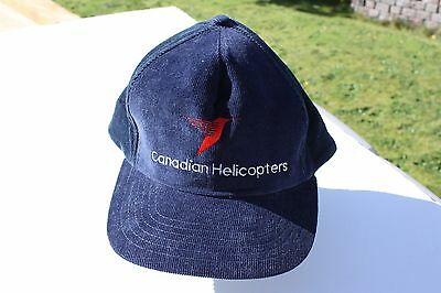 Ball Cap Hat - Canadian Helicopters - Hummingbird - Blue (H1665)