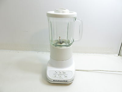 KITCHENAID CLASSIC White Blender Model Rrksb3 With Glass Pitcher ...
