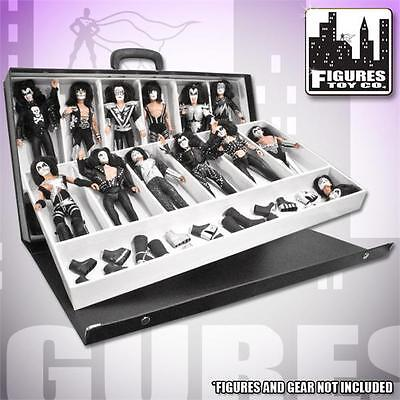 8 Inch KISS Action Figure Carrying Case