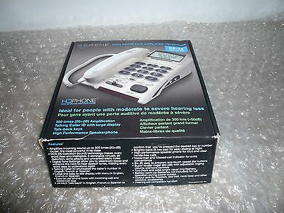 Serene Innovations High Definition Amplified Cid Phone HD-65 HD640 NEW