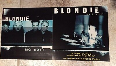 Blondie No Exit Poster 2-Sided Flat Promo 12x12 Mint Condition