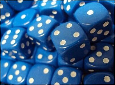 Blue 12mm DICE x 10 - Warhammer Tabletop Games 40K