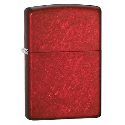 Candy Apple Red Zippo Lighter - Regular Small Pocket Gift Present Accessory